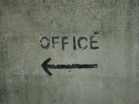 Free Stock Photo of Office sign