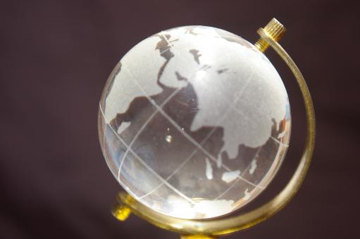 Free Stock Photo of Glass globe