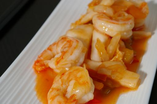 Free Stock Photo of Asian shrimp recipe