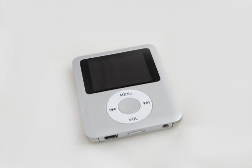 Free Stock Photo of Mp3 player