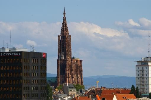 Free Stock Photo of Cathedrale of Strasbourg France