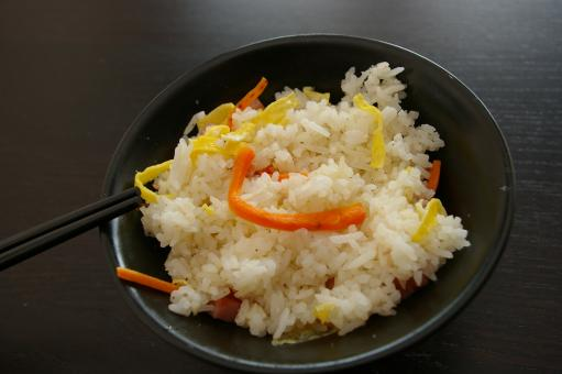Free Stock Photo of Asian rice cantoneese