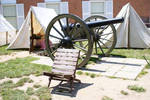Free Stock Photo of Gettysburg PA cannon
