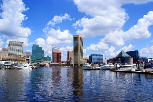 Free Stock Photo of Baltimore Inner Harbor