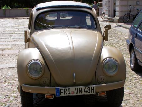 Free Stock Photo of Old Volkswagen Beetle from World War 2