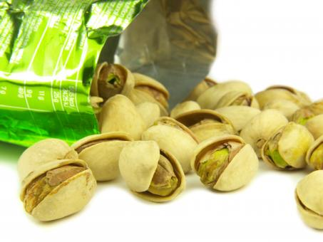 Free Stock Photo of Pistachio very close