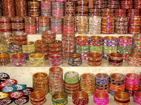 Free Stock Photo of Indian Bangles