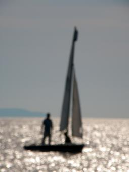 Free Stock Photo of The sailboat