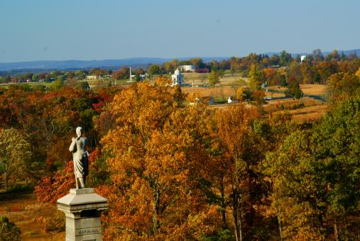 Free Stock Photo of Gettysburg landscape
