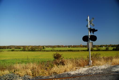 Free Stock Photo of Train signal