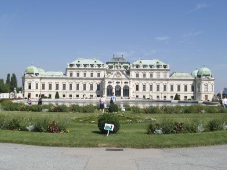 Free Stock Photo of Vienna - Belvedere Palace