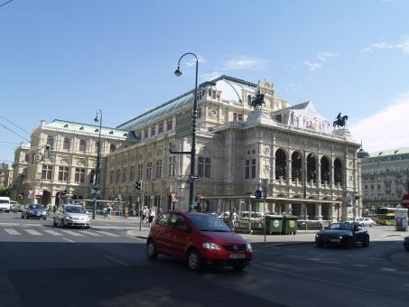 Free Stock Photo of Vienna - State Opera