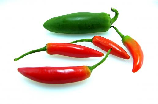 Free Stock Photo of Peppers