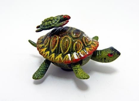 Free Stock Photo of Ceramic turtle