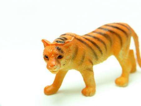 Free Stock Photo of Plastic Tiger