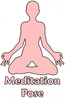 Free Stock Photo of Meditation Pose