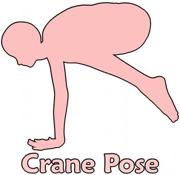 Free Stock Photo of Crane Pose