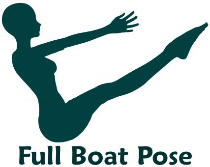 Free Stock Photo of Full Boat Pose