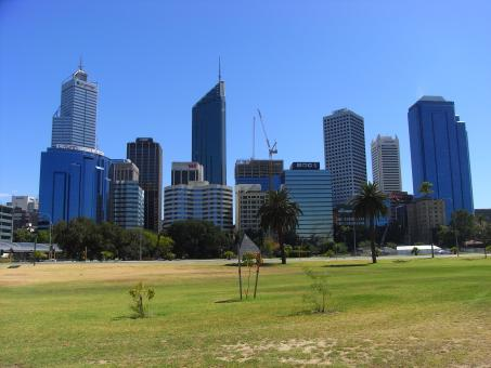 Free Stock Photo of Perth skyline