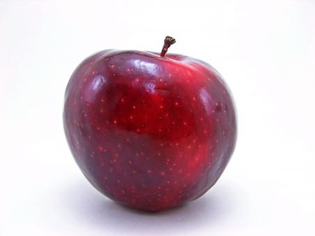 Free Stock Photo of Luscious Red apple