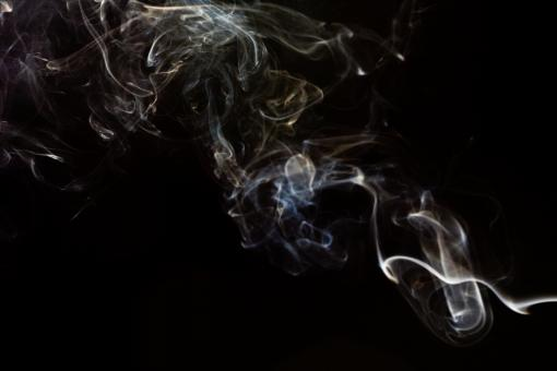 Free Stock Photo of Abstract Swirl of Smoke