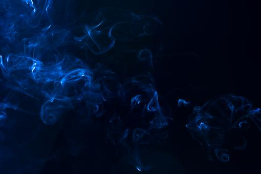 Free Stock Photo of Abstract Blue Smoke