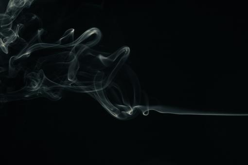Free Stock Photo of Abstract Smoke Swirl
