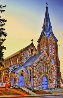 Free Stock Photo of hdr Church