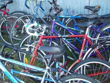 Free Stock Photo of Bikes flotsam and Jetsam