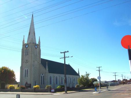 Free Stock Photo of St Joseph's Church in Temuka with t