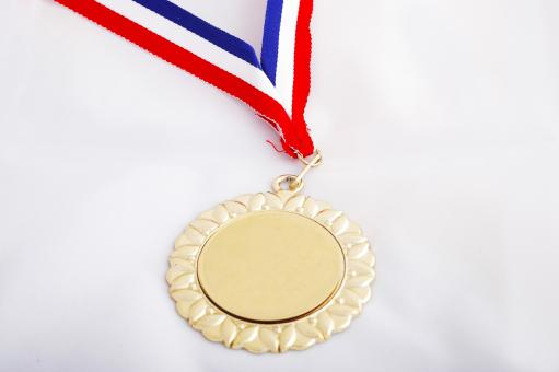 Free Stock Photo of Gold medal