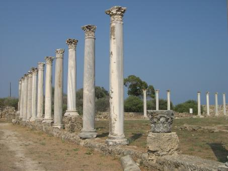 Free Stock Photo of Roman columns