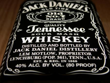 Free Stock Photo of Jack Daniels Label