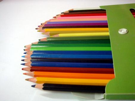 Free Stock Photo of Colour Pencils