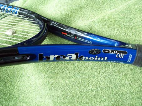Free Stock Photo of Tennis the game - Blue Racket