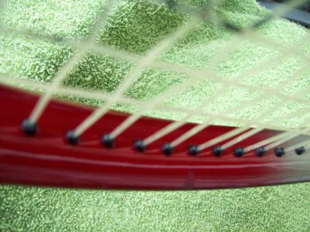 Free Stock Photo of Tennis Racket Close Up