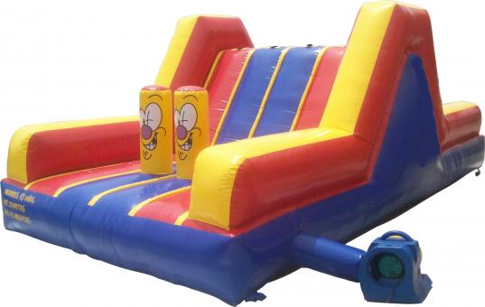 Free Stock Photo of Inflatable bounce castle