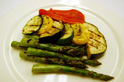 Free Stock Photo of Grilled vegetables