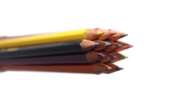 Free Stock Photo of Crayons