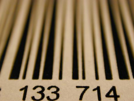 Free Stock Photo of Barcode Stripes