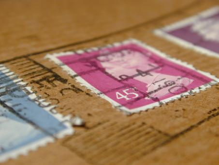 Free Stock Photo of British Stamps