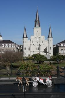 Free Stock Photo of New Orleans - Saint Louis Cathedral