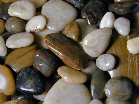 Free Stock Photo of Polished Stones