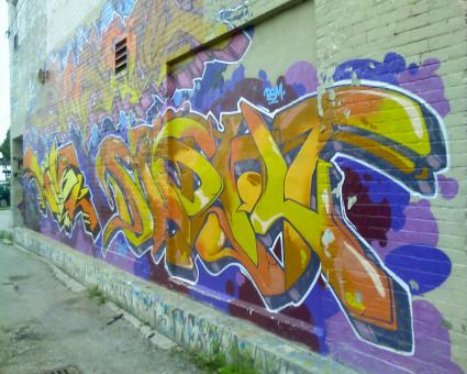 Free Stock Photo of Graffiti in Toronto