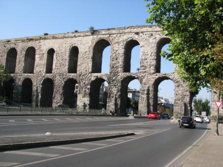Free Stock Photo of Aqueduct of Valent in Istanbul