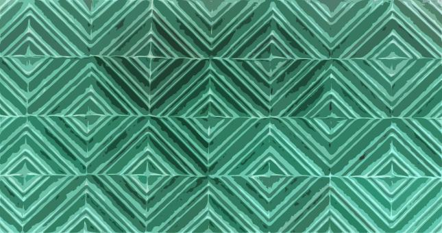 Free Stock Photo of Green Tiles