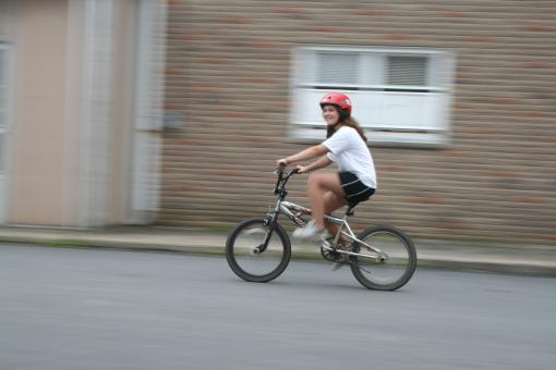 Free Stock Photo of Bike Riding