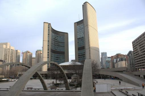 Free Stock Photo of Toronto City hall