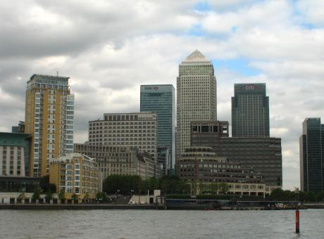 Free Stock Photo of Canary Wharf, London