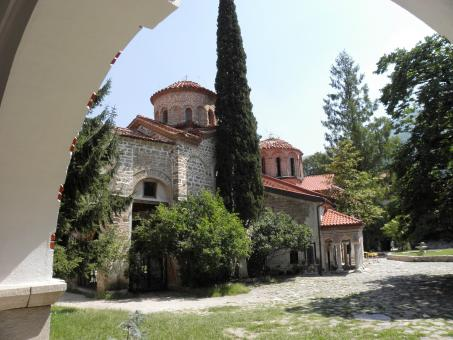 Free Stock Photo of Bachkovski monastery in the Rhodopes